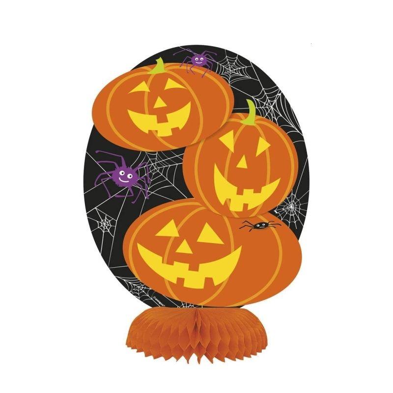 Download Halloween Honeycomb Decorations Background