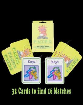 Baby pick'n'match Card Game