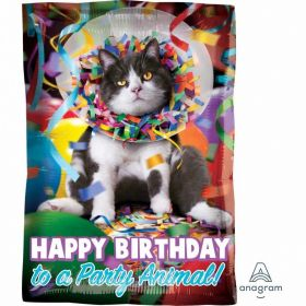 Avanti Party Animal Junior Shape Foil Balloons