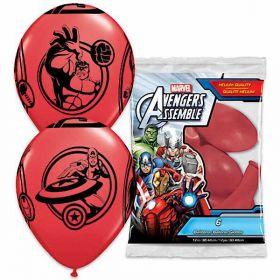 Avengers Assemble Balloons pk6
