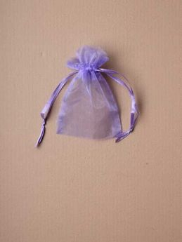 Small Lilac Organza Gift Bag