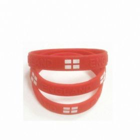 England Rubber Bracelet (Sold Singly)