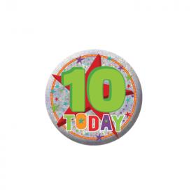 10 Today Birthday Badge