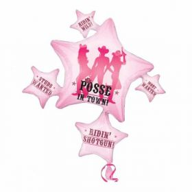 Party Posse SuperShape Foil Balloon