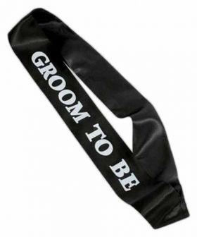 Groom to be Sash