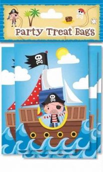 Pirate treat bags pk10