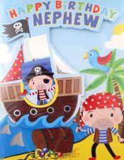 Nephew Pirate Card