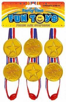 Gold Winner Medals pk6