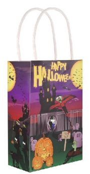 Halloween Paper Party Bag with handles