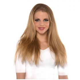 Blonde Clip in Volumiser Wig