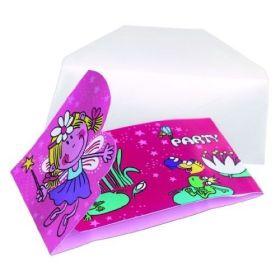 Fairy Invitations & Envelopes, Pk6