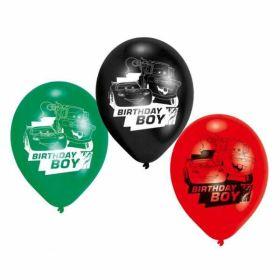 Disney Cars Birthday Boy Latex Balloons pk6