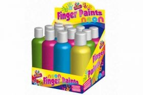 Neon Finger Paint