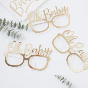Oh Baby! - Fun Glasses, pk8