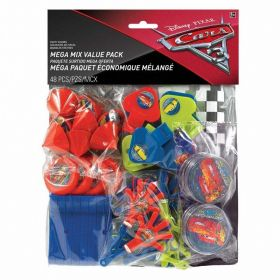 Cars 3 Mega Value Favour Pack, 48 piece