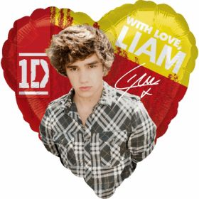 One Direction 1D Liam Foil Party Balloon
