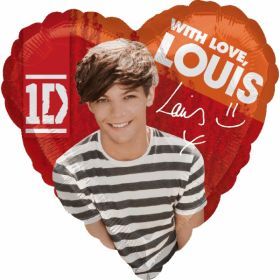 One Direction 1D Louis Foil Party Balloon