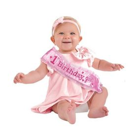 1st Birthday Sash