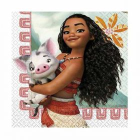 Moana Party Napkins pk20