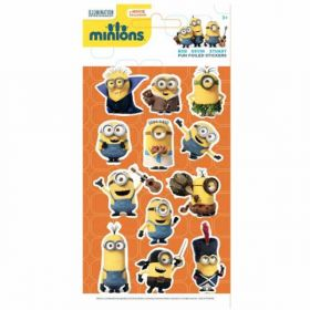Minions Foiled Stickers no.2
