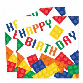 Block Party Napkins, pk16