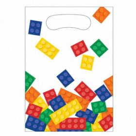 Block Party Plastic Loot Bags pk8