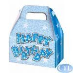 Blue Glam Party Boxes pk3