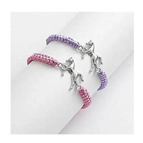 Horse Charm Friendship Bracelet