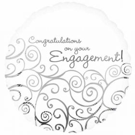Engagement Congratulations Foil Balloon