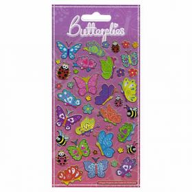 Happy Butterflies Foil Stickers