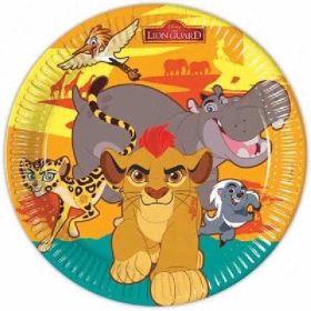 Lion Guard Paper Plates pk8 - 23cm