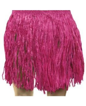 Adult Pink Tissue Hula Skirt