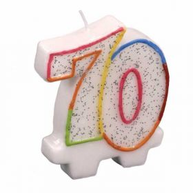 Multicolour 70 Candle