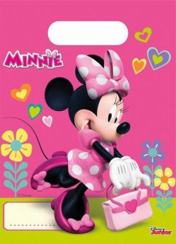Disney Minnie Mouse Party Bags, pk6