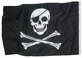 Jolly Roger Pirate Flag - 92cm x 60cm