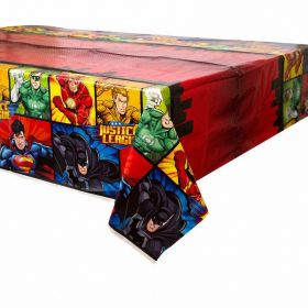 Justice League Tablecover 1.37m x 2.13m