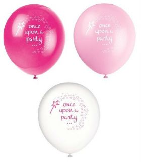 Once upon a Party Balloons pk8