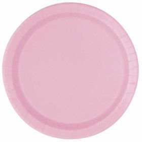 Lovely Pink Paper Plates 8pk