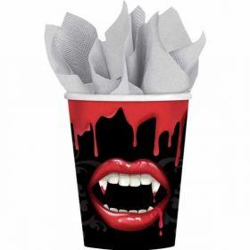 Fangtastic Paper Cups pk8