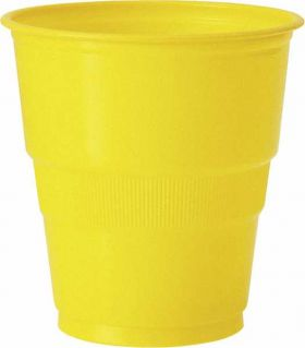 Sun Flower Yellow Cup pk12