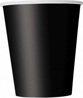 Midnight Black Cups pk8