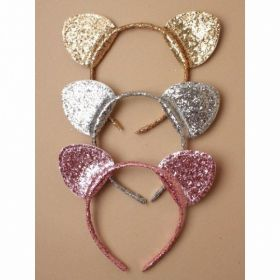 Glitter Cat Ears Aliceband
