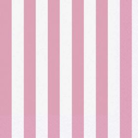 Lovely Pink Luncheon Napkins pk16