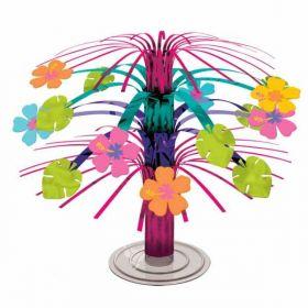 Hawaiian Hibiscus Mini Foil Cascade Centrepiece