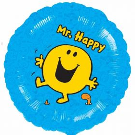 Mr Men - Mr Happy Foil Balloon 18''
