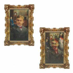 Rotting Zombie Lenticular Portrait