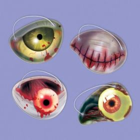 Zombie Paper Eye Patch Favours pk12