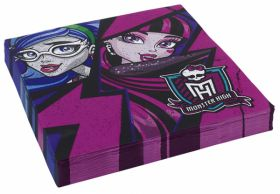 New Monster High Luncheon Napkins Pk20