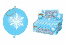 Snowflake Punch Balloon