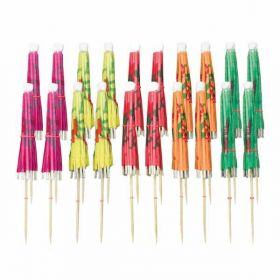 Cocktail Umbrella Picks Assortments, pk20